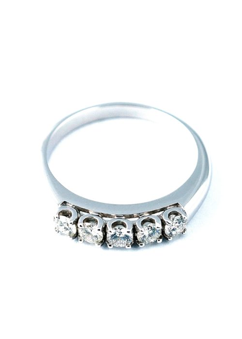 The Eternal five-stone diamond ring