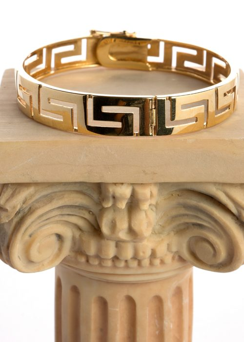 GREEK STYLE GOLD  BANGLE0001